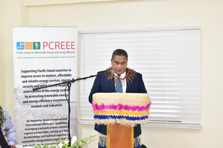 CEO of MEIDECCC, Mr Paula Ma'u